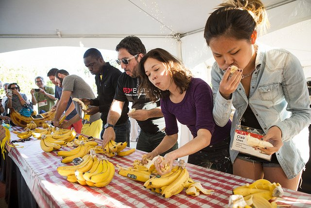 Ted Active Banana Eating Contest