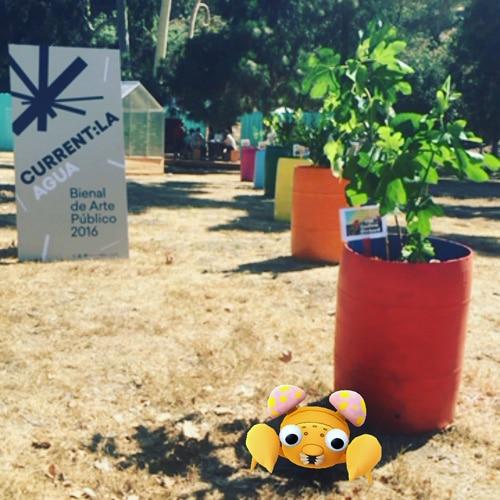 current la fallen fruit public art pokemon